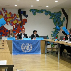 Munich Model United Nations (MucMUN) 2012 eröffnet