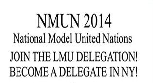 NMUN 2014 Become A Delegate