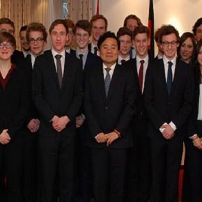 Besuch im Chinesischen Generalkonsulat München