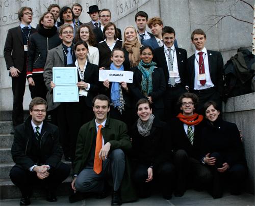 Delegation 2007 - Ecuador