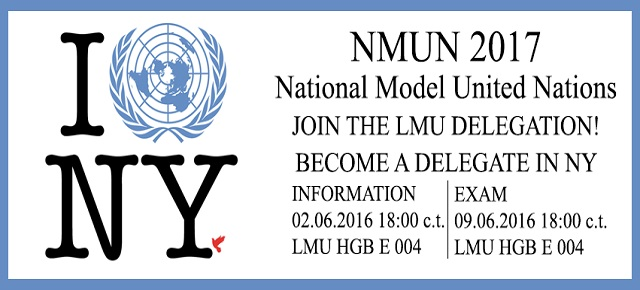 Diplomats wanted for NMUN '17!