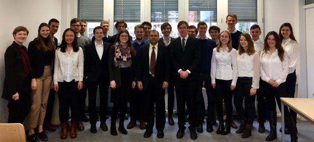 Besuch des indischen Generalkonsuls in München
