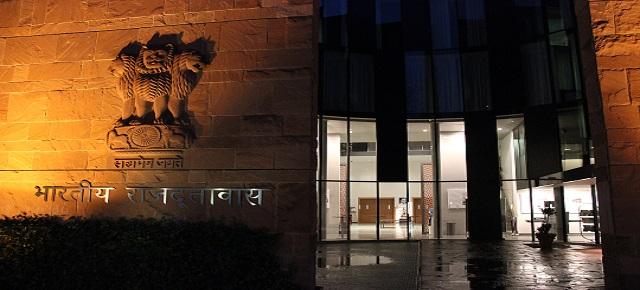 Besuch in der indischen Botschaft in Berlin