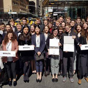 Brazil: Outstanding Delegation bei NMUN 2018!