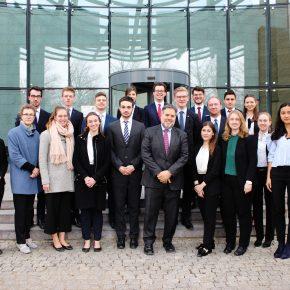 Besuch der israelischen Botschaft und des jüdischen Zentralrats